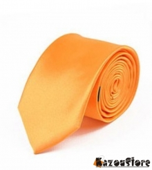 Dasi NeckTie Skinny orange